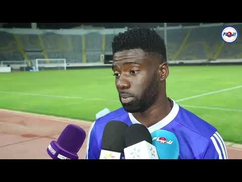 تصريح مثير للاعب غابوني بخصوص مباراته مع المغرب