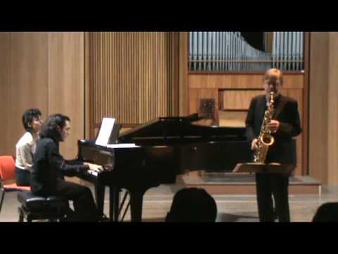 HINDEMITH Sonata for sax and piano – part II