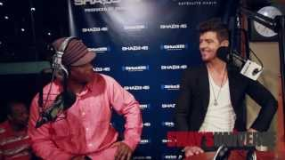 Robin Thicke on Blurred Lines Video & Thoughts on Paula Patton's Topless Scene in 2 Guns Film view on youtube.com tube online.