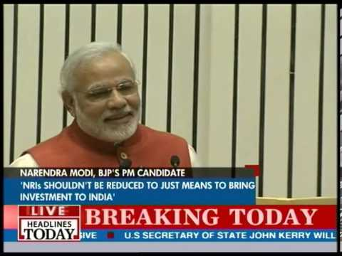 Narendra Modi speaks at Pravasi Bharatiya Divas