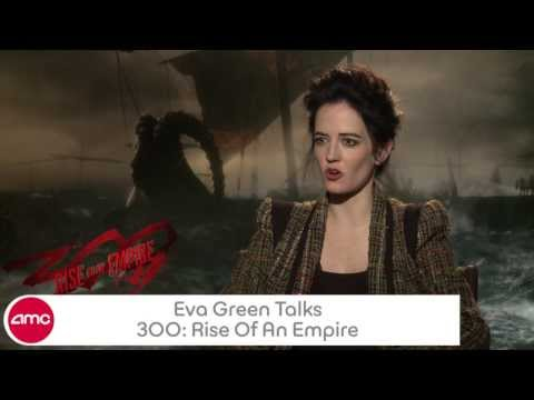 Eva Green Talks 300 RISE OF AN EMPIRE with AMC