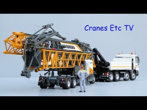 Cranes Etc TV: NZG Liebherr 81K Fast Erecting Crane with Transport Vehicle