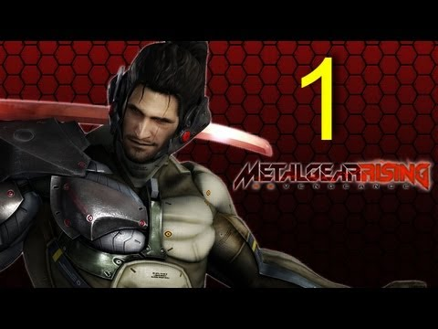 Metal Gear Rising Revengeance - Jetstream SAM DLC walkthrough part 1 let's play gameplay HD PS3 XBOX Metal Gear Rising Revengeance -iRzxAxWqpc8