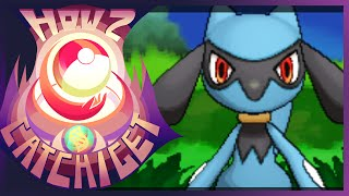 How & Where To Catch/get Riolu In Pokemon X And Y