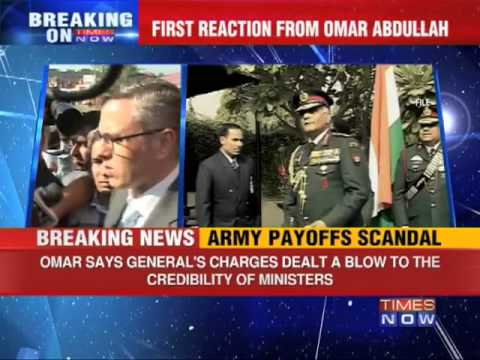 Omar Abdullah hits out at VK Singh