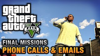 GTA 5 Phone Calls & Emails After Final Missions