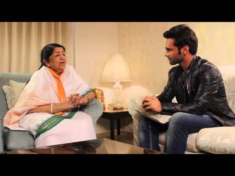 rahul vaidya lata mangeshkar super interview part 1