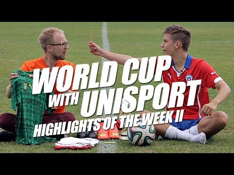 World Cup 2014 Highlights of the week II - World Cup with Unisport