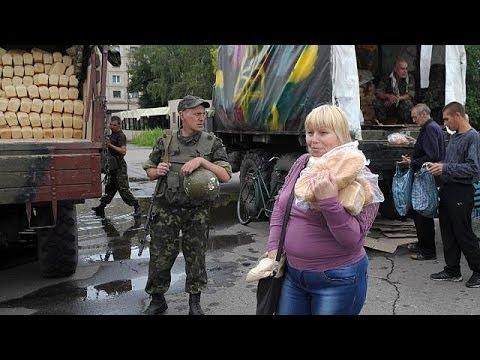 Ucraina, Poroshenko visita Sloviansk