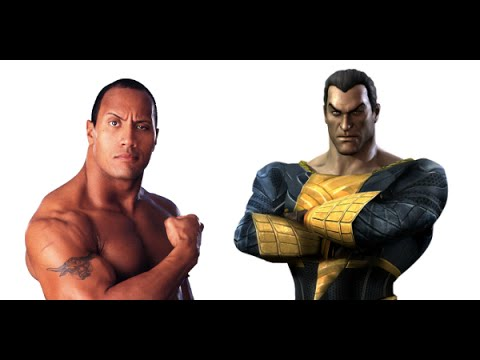 AMC Movie Talk - Is The Rock SHAZAM Or BLACK ADAM?