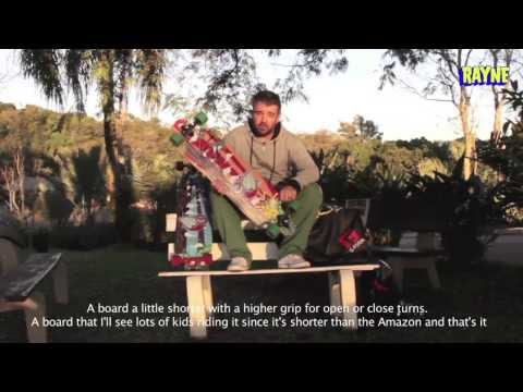 Rayne Signature Series - Douglas Dalua Amazon and Piranha Longboards