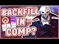 Overwatch BACKFILL IN COMPETITIVE Fixing the Leaver Problem