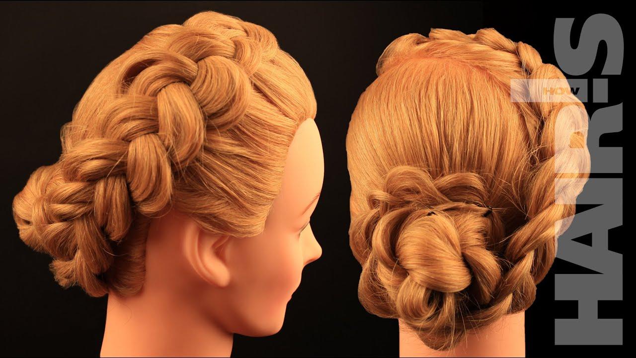 Французкие косы в прическах