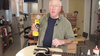Watch the Trade Secrets Video, BridgeSaver guitar bridge repair tool