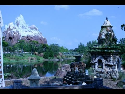 Asia at Disney's Animal Kingdom! Walt Disney World 2011 HD