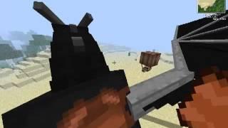 Como Domar A Un Dragon En Minecraft 1.4.7