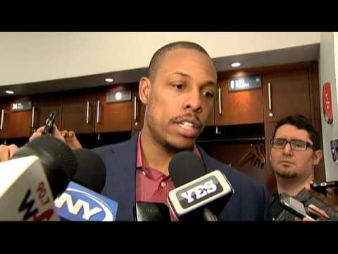 Paul Pierce talks about the Brooklyn Nets huge fourth quarter against the Timberwolves