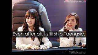 [백합] TaengSic is trash 2018   Taeyeon x Jessica