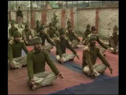 Yoga for Army to fight Cold   CHILLY WINTER YOGA mp4
