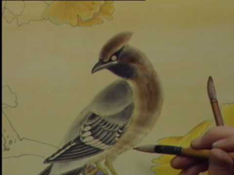Chinese Painting Flower Birds (Part 34/3000)
