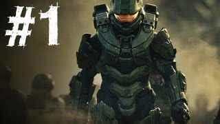 Halo 4 Gameplay Walkthrough Part 1 Campaign Mission 1