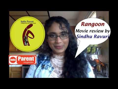 Rangoon Movie review  by Sindhu Ravuri