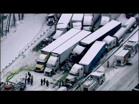 Imágenes de Impacto: masivo accidente de camiones de carga deja muertos - Primer Impacto