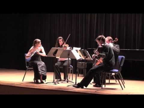 Mozart Flute Quartet in D Major - Movement 3