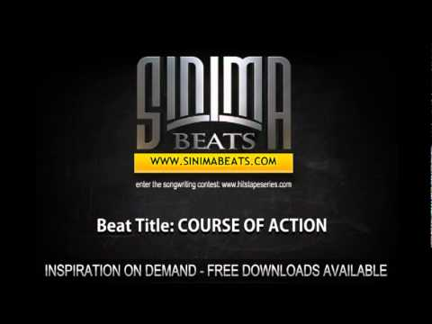 COURSE OF ACTION (Hard Hip-Hop Violins, Dark Dubstep Instrumental) Sinima Beats