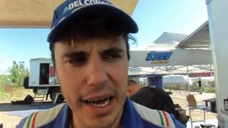 Alex Zanotti - TM - racconta la prima tappa della Dakar 2014