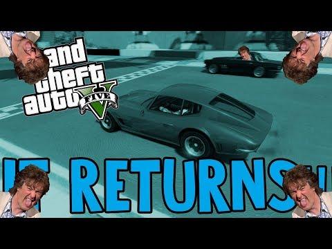 The James May Mobile Returns!   GTA Racing Funny Moments
