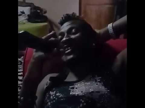 Video: Asamoah Gyan rehearsing One Of Kofi Kinaata's Song with his Band