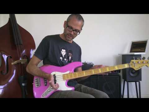 2. Slap bass lesson 1/2 - beginner/intermediate