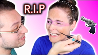 My Boyfriend Does My Makeup and MAKES ME CRY