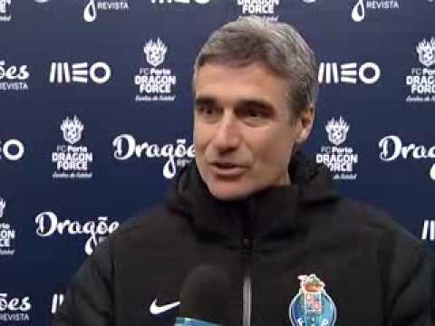 Futebol: Luís Castro (antevisão do FC Porto B-Aves, 26.ª jornada da Segunda Liga)