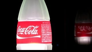 How To Make A Table Lamp From A Recycled COCA COLA Glass