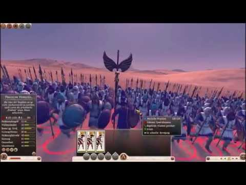 300 Spartans vs 10000 Persians in Total War Rome 2