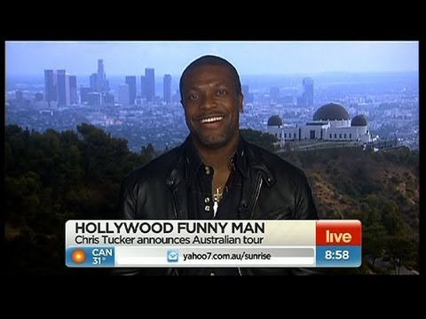 Sunrise - Hollywood funnyman Chris Tucker chats