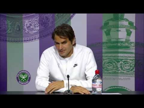 Roger Federer happy to be back in the semis - Wimbledon 2014