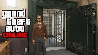 GTA 5 Online How To Get Inside The Blaine County Bank