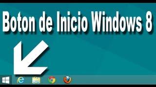 Windows 8: Como Agregar El Botón De Inicio Totalmente