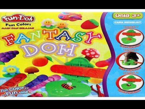 FUN DOH - Fantasy Doh | mainan edukasi anak dari lilin mainan