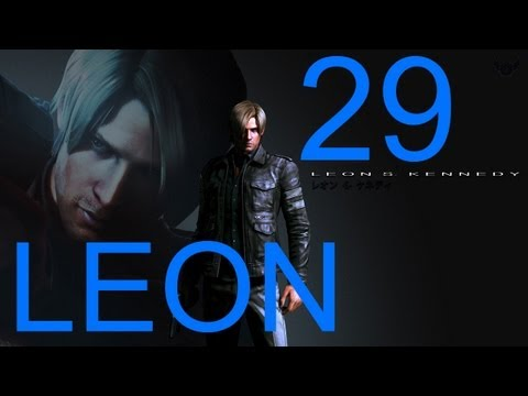 Resident Evil 6 walkthrough - Final Boss Leon Walkthrough HD part 29 gameplay RE6