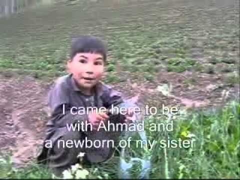 Afghan Hazara boy in Bamyan funny interview.flv