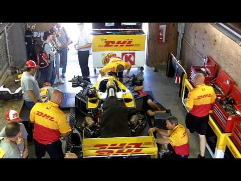 Andretti Autosport Pre-Race Prep at Mid-Ohio