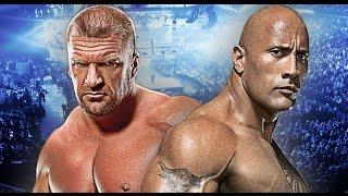 Triple H vs The Rock Wrestlemania 32 Promo HD