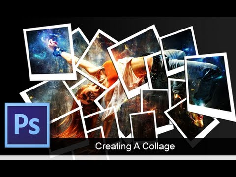 how to create a collage in coreldraw