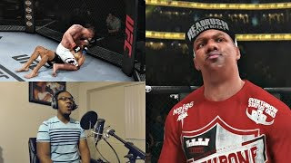 EA Sports UFC PS4 Career Mode Gameplay FACECAM - Ultimate Motivation!! Ep. 24