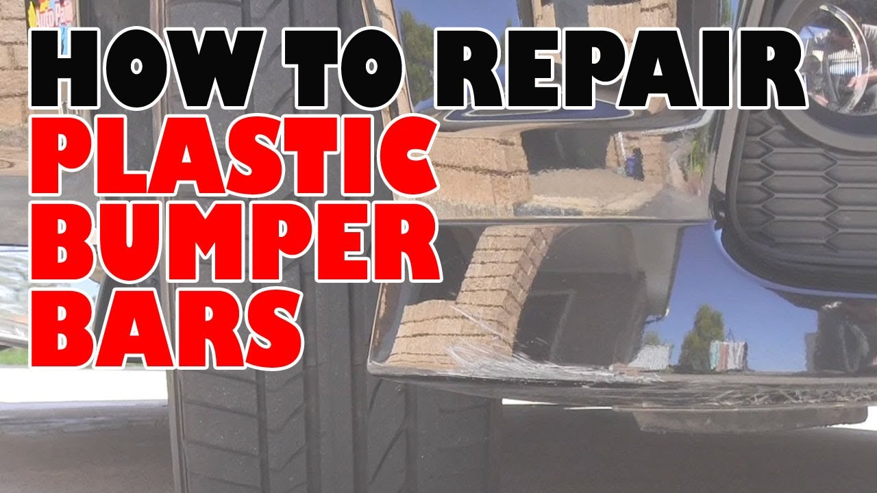 how to repair plastic bumpers youtube. Black Bedroom Furniture Sets. Home Design Ideas