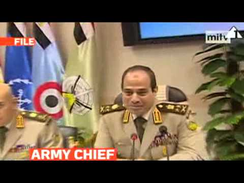 State media reported that Egypt's army chief, General Abdel Fattah al-Sisi will run for president